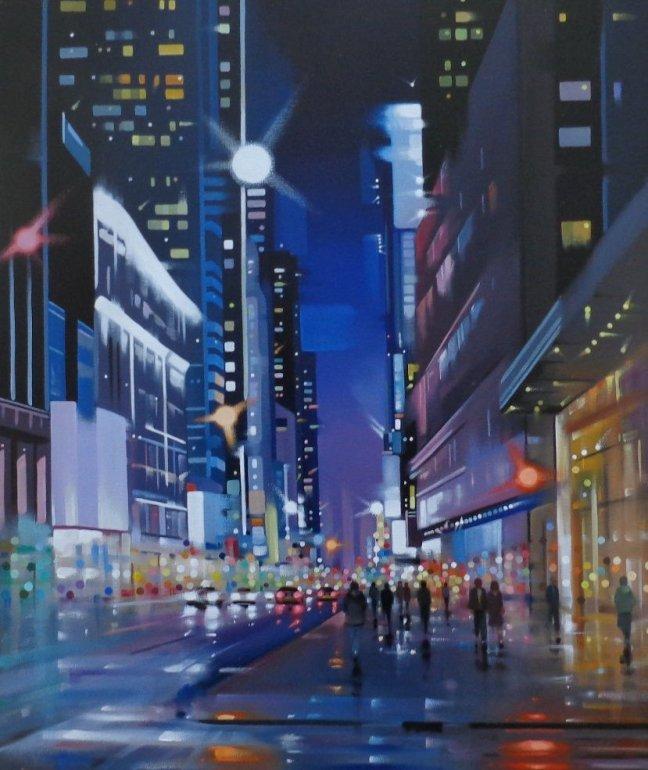 Image 1 of City Sparkle - Original